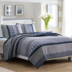Nautica Adelson Quilt Set from Beddingstyle.com