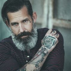 6 Gray Beards That Prove Your Facial Hair Just Gets Better With Age by Urban Beardsman Magazine ...