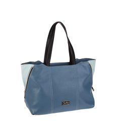 Bolso shopping para colgar del hombro en color azul. Color Azul, Gym Bag, Bags, Fashion, Women's Handbags, Suitcases, Purses, Men, Handbags