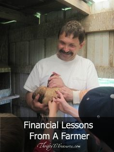 On a recent visit to a local farm, we learned about chickens and cows. But one thing I didn't expect to learn about finances!