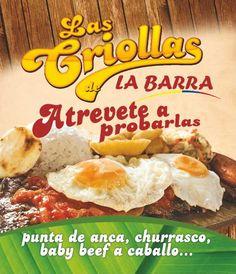 Las Criollas  - Atrevete a Probarlas - La Barra #Restaurante #Cali #CaliCo #OrgullodeCali