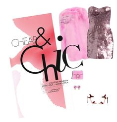 """""""Pink!"""" by andreearaiciu ❤ liked on Polyvore featuring Gucci, Lipsy, Dsquared2 and Jemma Wynne"""