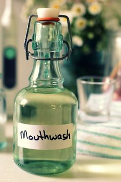 - Homemade Mouthwash With Peppermint Hydrosol -   Scientists estimate that there are more bacteria living in your mouth right now than there are people on earth. These days, though, we know that most of the bacteria we co-exist with are either beneficial or neutral, with only a small percentage being pathogenic.The mouthwashes that line store shelves often contain ingredients that have been shown to have a negative impact on health.  via: @mommypotamus