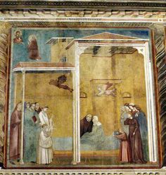 Giotto-Confessione della donna - Saint Francis cycle in the Upper Church of San Francesco at Assisi - Wikimedia Commons