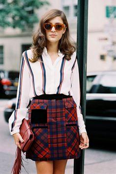Vanessa Jackman: New York Fashion Week SS 2015....Eleonora