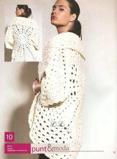 Crochet Patterns: Jaqueta é o Círculo hum Patron