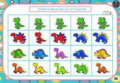 Mejoramos la atención con intrusos - Imagenes Educativas Dinosaur Crafts, Craft Activities, Comics, Fictional Characters, Special Education, Blue Prints, Dinosaurs, Comic Book, Cartoons