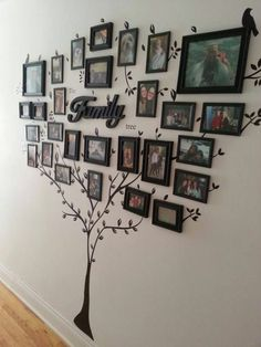 wanddeko selber machen wohnideen selber machen familienbaum aus fotos Sponsored Sponsored make wall decoration yourself make living ideas yourself family tree from photos Diy Home Decor, Room Decor, Home Decoration, Art Decor, Photo Deco, Creative Walls, Home And Deco, Photo Displays, Display Photos