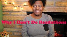 Why I Don't Do Readathons