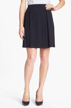 NWT! $268 Eileen Fisher Textured Silk Georgette Skirt   SZ S   A288 #EileenFisher #PencilSkirt