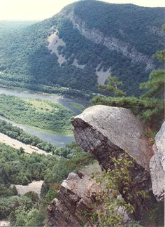 Delaware River Gap from NJ looking to PA.