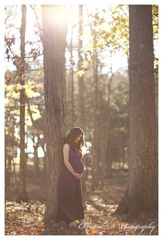 Beautiful maternity shoot in the wood. Come like my Facebook page for some unique photography ideas. https://www.facebook.com/christinedphoto