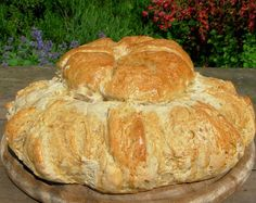 ~ Traditional Cottage Loaf ~ Old Fashioned Rustic English Bread