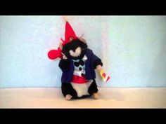 2002 Celebration Dancing Hamster Plush By Gemmy