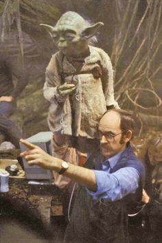 """Frank Oz as the voice of Yoda in the """"Star Wars."""" movies. NOTE: Although this IS best movie /characters/ and not /voices/ I am adding Frank/Yoda due to the talent that man (Frank.) has."""