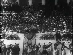 Teddy Roosevelt's inauguration (1905)