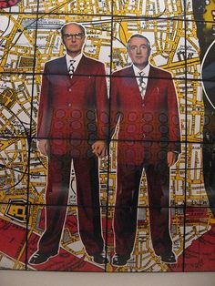 Gilbert & George Retrospective, Tate Modern Modern Artists, Contemporary Artists, Gilbert & George, Collaborative Art, Chocolate Factory, Visual Arts, Dandy, Figurative, Fashion Photo