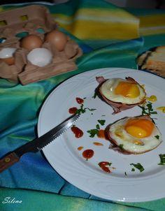 Άρωμα Κουζίνας: Φωλιές μπέικον γεμιστές με τραγανές πατάτες και αβγό