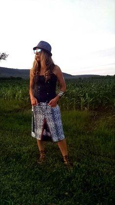 Printed Denim Maxi Skirt, Boho Hippie, Womens Boho Skirt, Shabby Chic, Boho Chic by AmyandAnnaDesigns on Etsy https://www.etsy.com/listing/238075364/printed-denim-maxi-skirt-boho-hippie