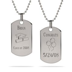 cheap dog tags for men men s dual large silver dog tag necklace