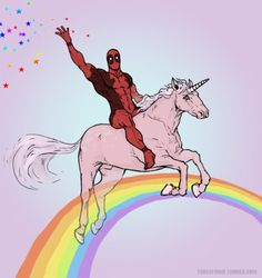 My favourite of all time. #deadpool #unicorn