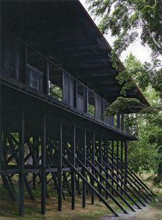Smiljan Radic - Wood house, Colico Lake 2015