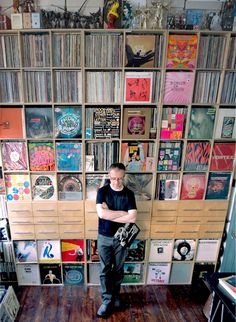 Vinyl store Music Mania Records is the biggest and longest running independent record store in Belgium. Records from across the spectrum LP, CD, . Record Shelf, Vinyl Record Storage, Record Cabinet, Vinyl Music, Vinyl Records, Lps, Wall Of Sound, Vinyl Record Collection, Vinyls