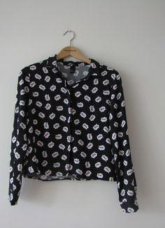 Kup mój przedmiot na #vintedpl http://www.vinted.pl/damska-odziez/bluzki-z-dlugimi-rekawami/14083967-koszula-z-hm-czarna-w-wzorki