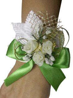 Весенний свадебный браслет - Уроки мастерства - интернет-магазин «Патибум»