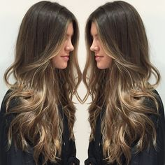 """This #bronde bombshell is ready for the new year!"