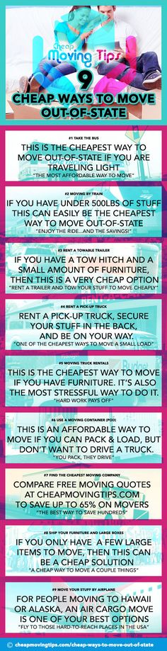 9 cheap ways to move out of state Diy Clothes Storage, Toddler Girl Gifts, Moving Cross Country, Baby Nursery Diy, Moving Tips, Moving House, Diy Home Crafts, Helping People, Make It Yourself
