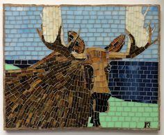 Mosaic Mosaic HBBAD by LachanceGlassMosaic on Etsy