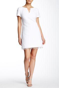 Love the neckline; dress too short