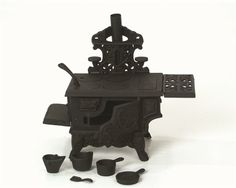 Lehman's - Mini Cast Iron Wood Cook Stove -Grandma had one of these! I used to love playing with it... #nostalgia