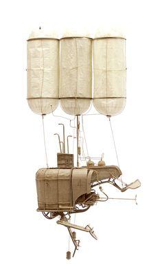Les nouvelles Machines volantes steampunk de Daniel Agdag (9)