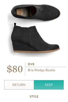 DV8 Bria Wedge Bootie from Stitch Fix.  https://www.stitchfix.com/referral/4292370