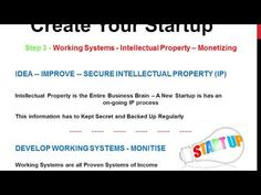 How to Make Money - Create Your Startup Company - How To Start A Business - Startups Business - Companies - - CreatingStartups Business Company, Start Up Business, Starting A Business, Word Of Mouth, Prioritize, Business Entrepreneur, Social Networks, Saving Money
