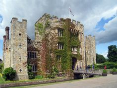 Hever Castle, Hever, Kent, England. Supposedly, this is where Anne Boleyn was born in the early 1500s.