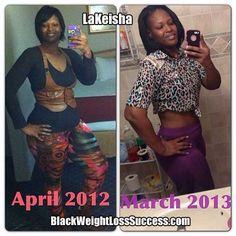 Lakeisha lost 64 pounds