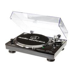 Audio-Technica - Stereo Turntable - Black, AUD ATLP120 USB BK