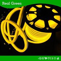 220V 2-Wires Golden LED Rope Light,220V neon led rope light,2-Wires led rope light,Golden neon rope light,LED Rope Light Thumb Photo