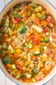 Weight Loss Vegetable Soup - Trying to shed some pounds or get healthier? Try…