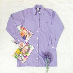 "Camisola estilo ""camisão"" Lavanda. Style Guides, Teen, Shirt Dress, Mens Tops, Shirts, Dresses, Fashion, Lavender, Style"