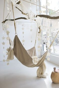 hammock, room, room, , inspitration, interior, pleasure, relax, pleasure