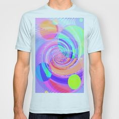 Re-Created Twisters No. 7 #T-shirt by #Robert #S. #Lee  - $18.00