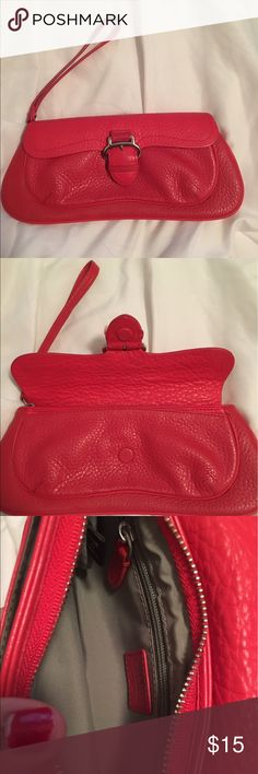 Cole Haan Red Wristlet wallet Cole Haan Red Wristlet wallet. Accepting reasonable offers 💄 Cole Haan Bags Clutches & Wristlets