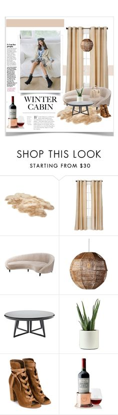 """cabin style"" by aleessarm ❤ liked on Polyvore featuring interior, interiors, interior design, home, home decor, interior decorating, UGG, Eclipse, Selamat Designs and Serena & Lily"