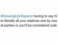 Growing up Hispanic problems
