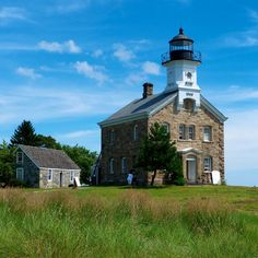 The Sheffield Island lighthouse, built in Norwalk, CT Lighthouse Lighting, Lighthouse Photos, Lighthouse Art, Places Around The World, Around The Worlds, Places To See, Places Ive Been, East Coast Road Trip, Light Of The World