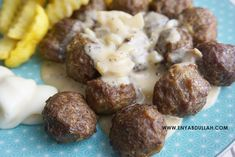 Resepi Sos Meatball Ala Ikea Enyabdullah Com Food Meatballs Recipes